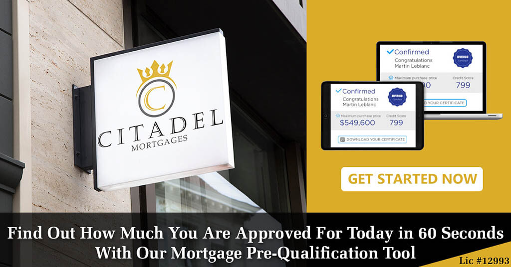 Prequalified in 60 seconds.Citadel Mortgages