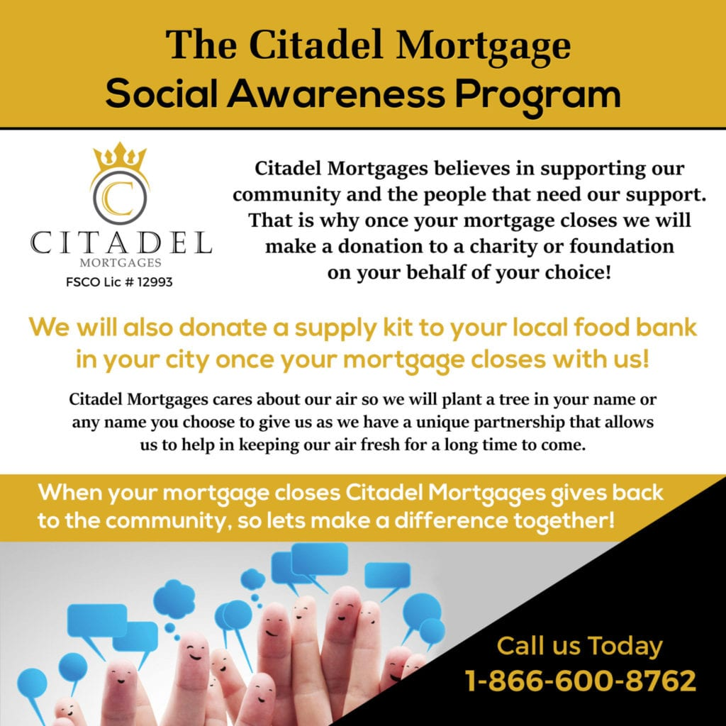 Social-Awareness-Program Citadel Mortgages