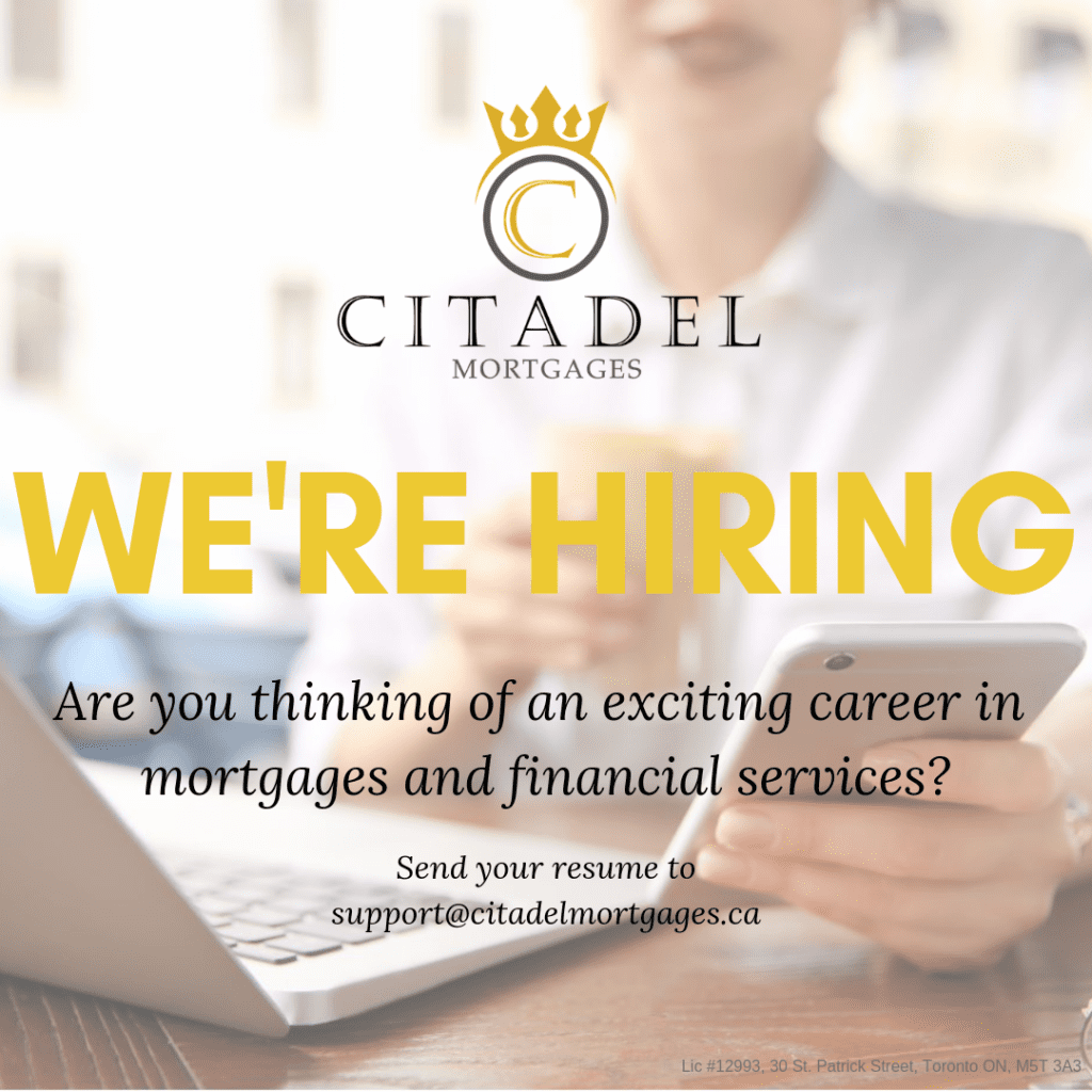 Were Hiring Citadel Mortgages 1010