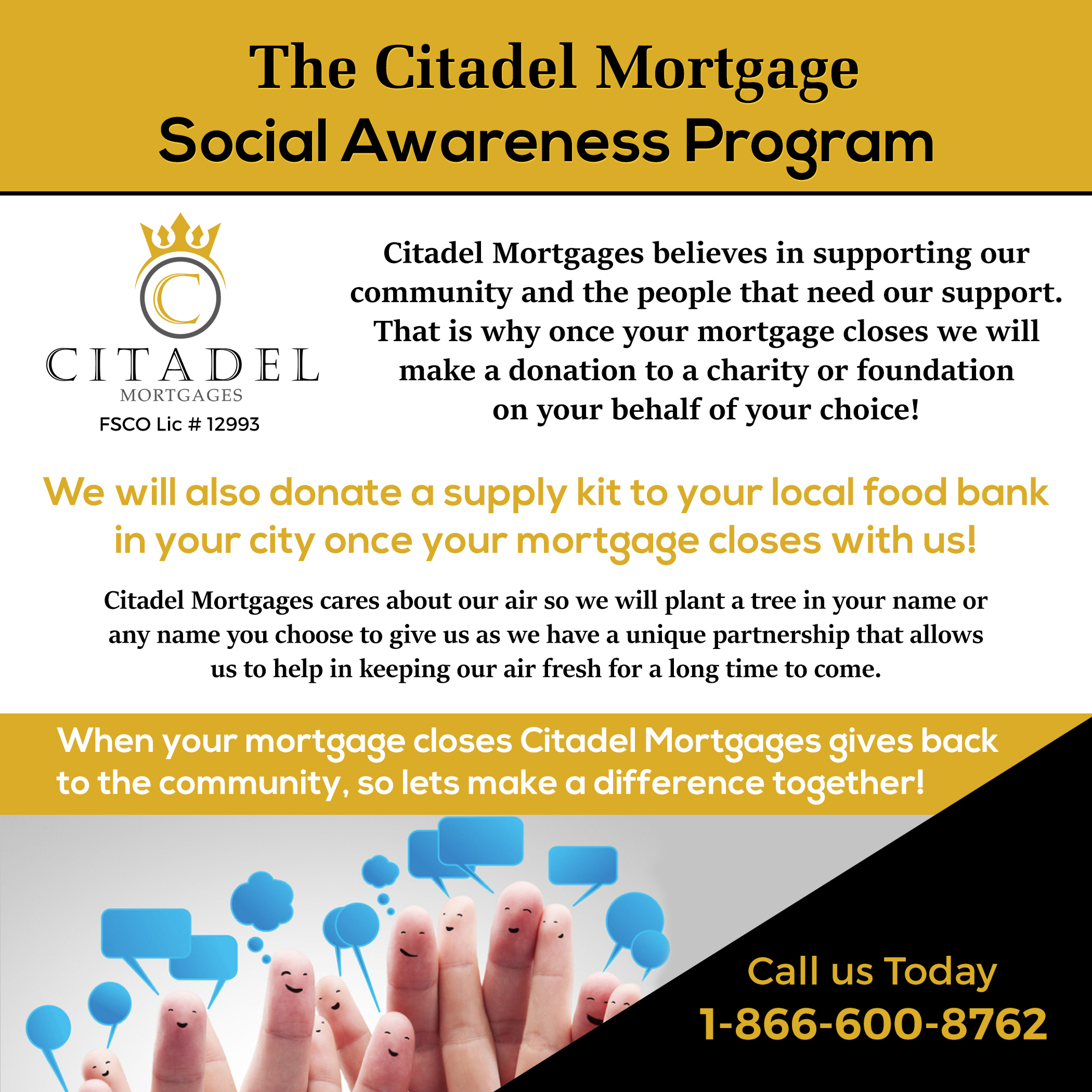 Social Awarenece - Citadel Mortgages