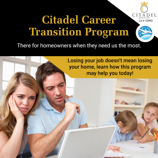 Citadel Career Transition Program - Citadel Mortgages