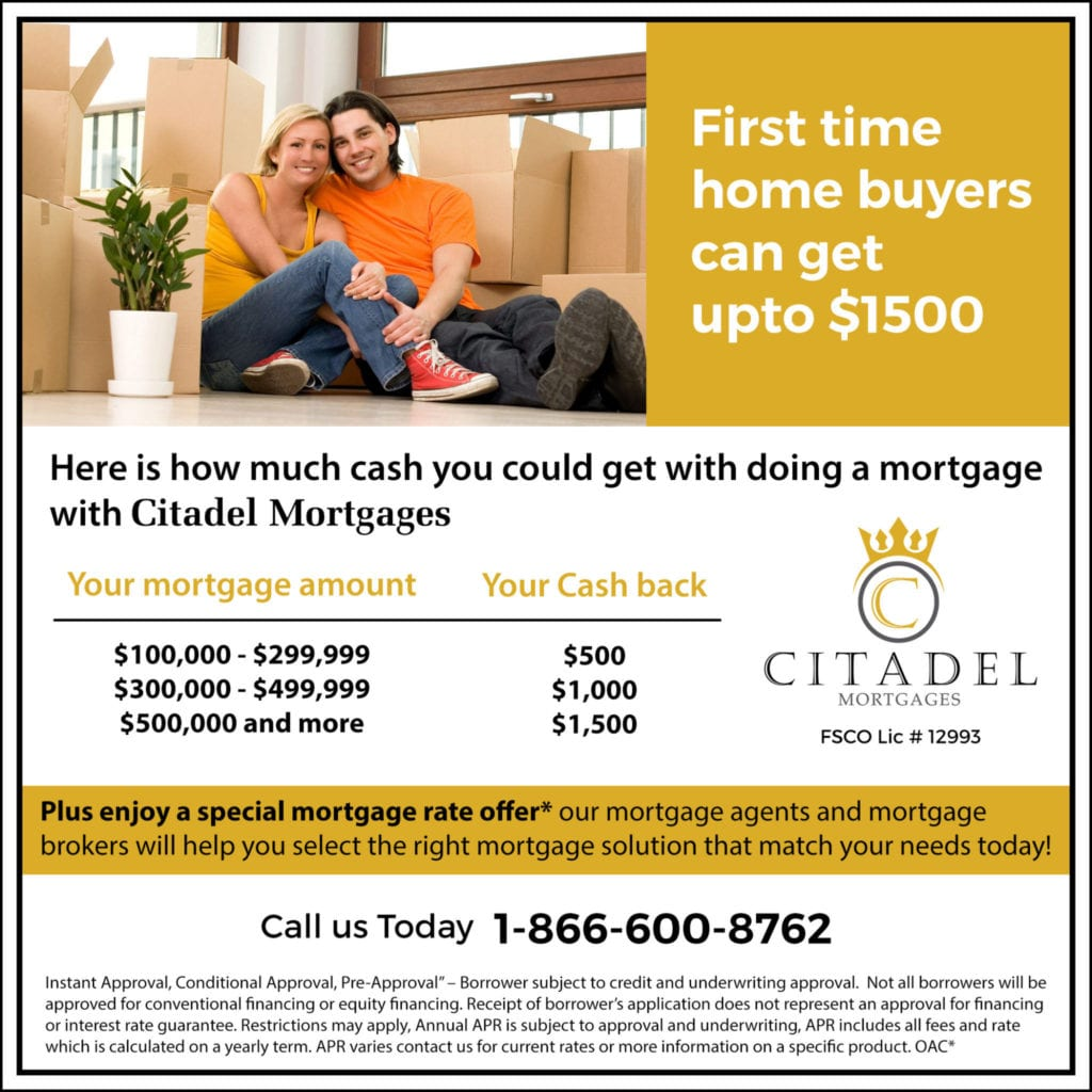 First-Time-Home-Buyers-Cash-Back. Citadel Mortgage