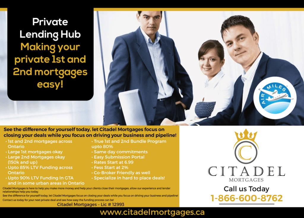 Private Lending Hub - Citadel Mortgages