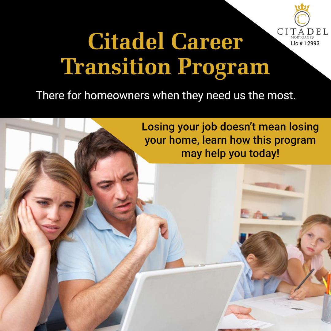 Citadel Career Transition - Citadel Mortgages